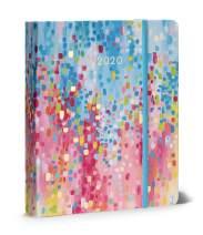 """High Note 2020 Planner - Hardcover Day Planner 18-Month - Daily Weekly Monthly Planner Yearly Agenda Organizer: July 2019 - December 2020 Fresh and Colorful Spring Shower 7""""X 8.5"""""""