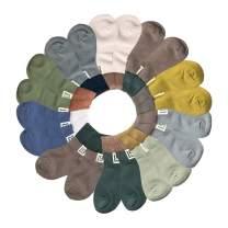 Boys Girls Socks Baby Kids Cotton Cozy Crew Socks Unisex Children Casual Athletic Socks Girls Dress Socks 3-12 T
