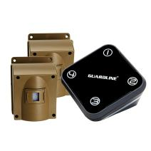Guardline Wireless Driveway Alarm w/Two Sensors Kit Outdoor Weather Resistant Motion Sensor/Detector- Best DIY Security Alert System- Protect Home, Perimeter, Yard, Garage, Gate, Pool.