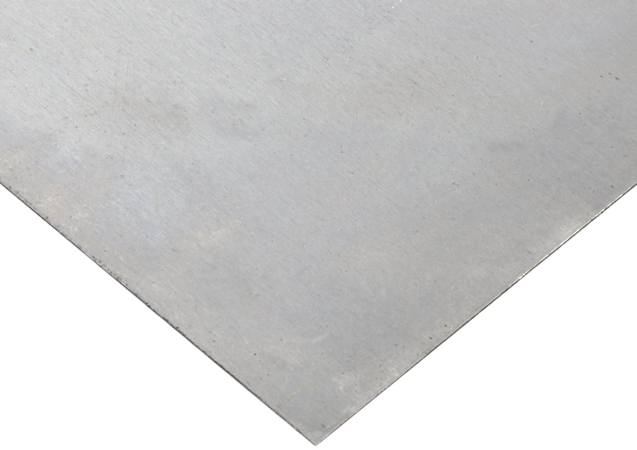 """4130 Alloy Steel Sheet, Unpolished (Mill) Finish, Annealed, AMS 6350, 0.16"""" Thickness, 24"""" Width, 36"""" Length"""
