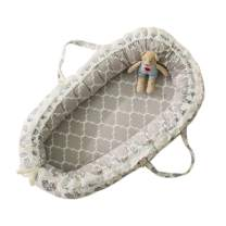 Baby Lounger Nest Bassinet for Bed Weixinbuy Breathable, Washable, and Portable Baby Nest Bassinet Co-Sleeping Crib Cradles Perfect for Cuddling, Lounging, Napping and Travel