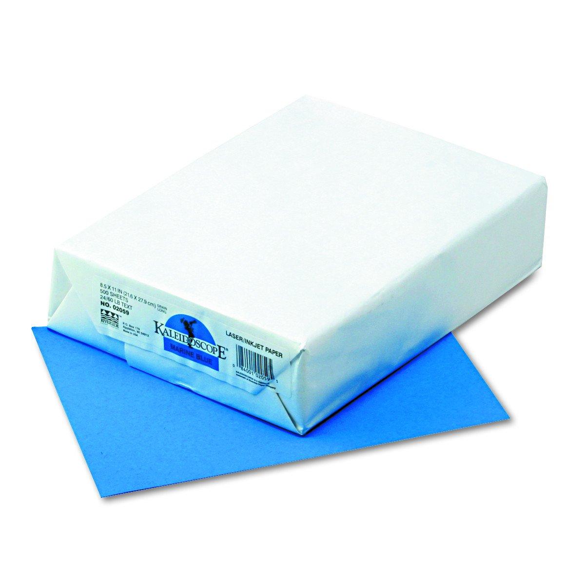 Kaleidoscope Multi-Purpose Paper, 8.5 x 11 Inches, Marine Blue, 500 Sheets (102059)