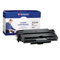 Verbatim Remanufactured Toner Cartridge Replacement for HP Q7516A ( Black)