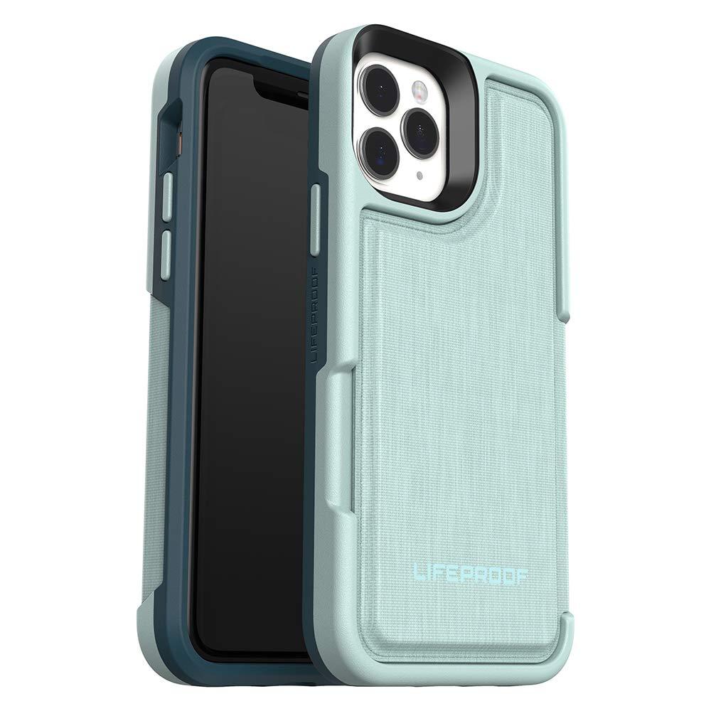 LifeProof FLIP SERIES Wallet Case for iPhone 11 Pro - WATER LILY (SURF SPRAY/DARK JADE)
