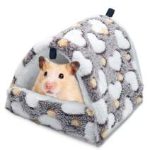Sunhoo Hamster Hammocks 2020 Latest RatHouseBedHutShed Guinea Pig Cage Bedding for Bird SquirrelHedgehogChinchillaNest Tent Zip Easy to Clean