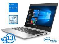 """2019 HP ProBook 440 G6 14"""" FHD Full HD (1920x1080) Business Laptop (Intel Quad-Core i7-8565U, 16GB DDR4 RAM, 512GB M.2 SSD) Backlit, Type-C, RJ45, HDMI, Windows 10 Pro Professional"""