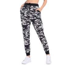 JTANIB Joggers Pants for Women, Active Lounge Drawstring Waist Yoga Sweatpants with Pockets