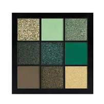 GL-Turelifes Pressed Eyeshadow Palette- Nine Eye Shades - Glitter and Matte Professional Eye Shadow Kit, Green Colors Series (#1 EMERALD)