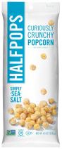 Halfpops Popcorns, Simply Sea Salt, 4.5 Ounce (Pack of 12)
