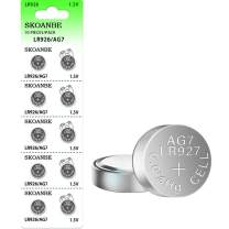 SKOANBE 10PCS LR926 SR927SW 1.5V AG7 399 395 395A LR57 Button Coin Cell Battery