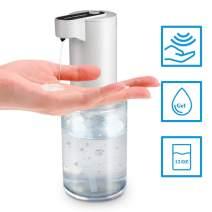 Touchless Automatic Gel Hand Sanitizer Dispenser,12OZ(350ml) Refillable Sensor Smart Dispenser Suitable for All Gel Hand Sanitizer