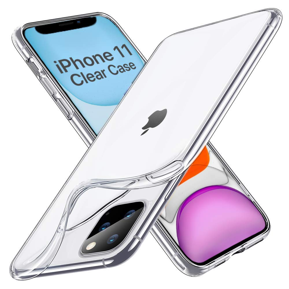Boxgear Designed for iPhone 11 Case, Anti-Scratch Shock-Absorption Crystal Clear Phone Cover Case for iPhone 11, 6.1 inch, 2019