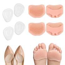 Metatarsal Pads,Honeycomb Forefoot Pad,Gel Ball Foot Cushions Inserts for High Heels, Bunions, Mortons Neuroma,Foot Pain Relief