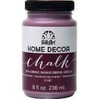 FolkArt 99244 Chalk Finish Paint, 8 oz, Currant