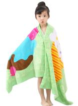 Soft Cotton Swim Beach Towel for Kids Absorbent Bath Towel for Girls Boys