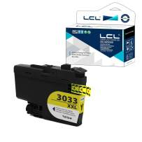 LCL Compatible Ink Cartridge Pigment Replacement for Brother LC3033 XXL LC3033XXL LC3033Y MFC-J995DW MFC-J995DW XL (Yellow 1-Pack)