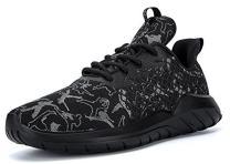 Soulsfeng Mens Casual Fashion Sneakers Glow in Dark Running Hiking Shoes