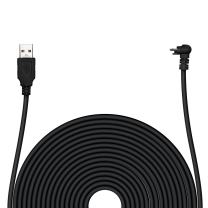 POPMAS Arlo Pro Weatherproof Charging Cable Indoor/Outdoor Quick Charge 20 Ft Extra Long 45mm Thickness Cable for Arlo Pro, Arlo Pro 2 Home Security Camera Black