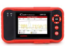LAUNCH CRP123 OBD2 Scanner, for Engine ABS SRS Transmission Systems , 4 in 1 live Data Graph, Print Data- Free Update
