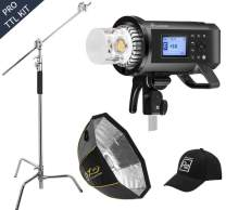 Flashpoint XPLOR 600PRO R2 TTL Battery-Powered Monolight Kit with Softbox and C-Stand
