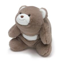 "GUND Snuffles Teddy Bear Stuffed Plush Animal, Taupe, 10"""