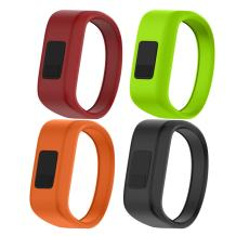 NotoCity Compatible with Garmin Vivofit JR/JR 2/3 Bands,Soft Silicone Replacement Watch Bands for Boy Girls Kids,4 Colors Pack Small