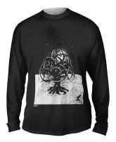 Yizzam- M.C.Escher - Tree (1919) -Tshirt- Mens Long Sleeve