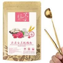 100% Pure Natural Plant Poria cocos & angelica dahurica & rose mixed powder,Face Film Materials, Moisturizing Antioxidant 100g