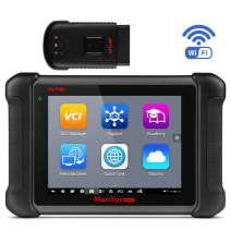 Autel MaxiSys MS906BT Diagnostic Tool with ECU Coding, Full System Automotive Scan Tool, Bi-Directional Control, Active Test, IMMO Keys, OE-Level Diagnosis Oil Reset, EPB, SAS, DPF, TPMS, ABS