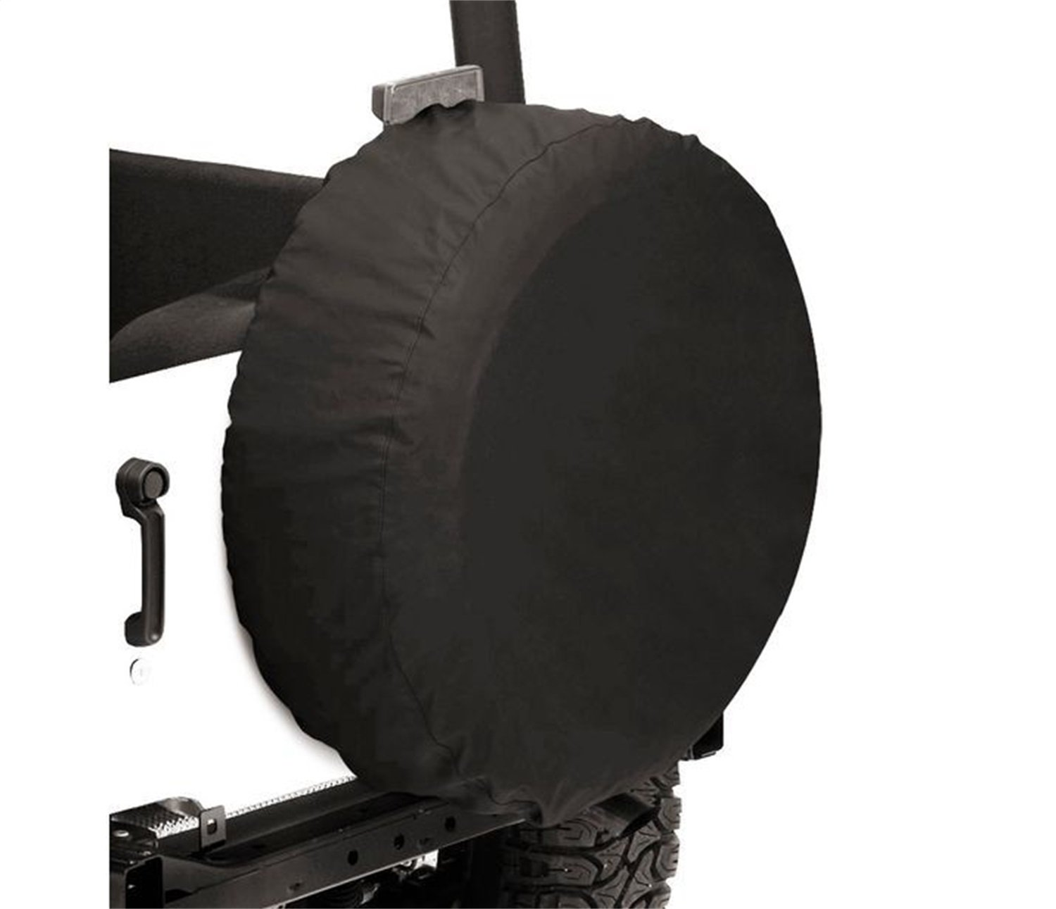 "Bestop 6102835 Black Diamond Custom Fit Tire Cover - 28"" X 8"""