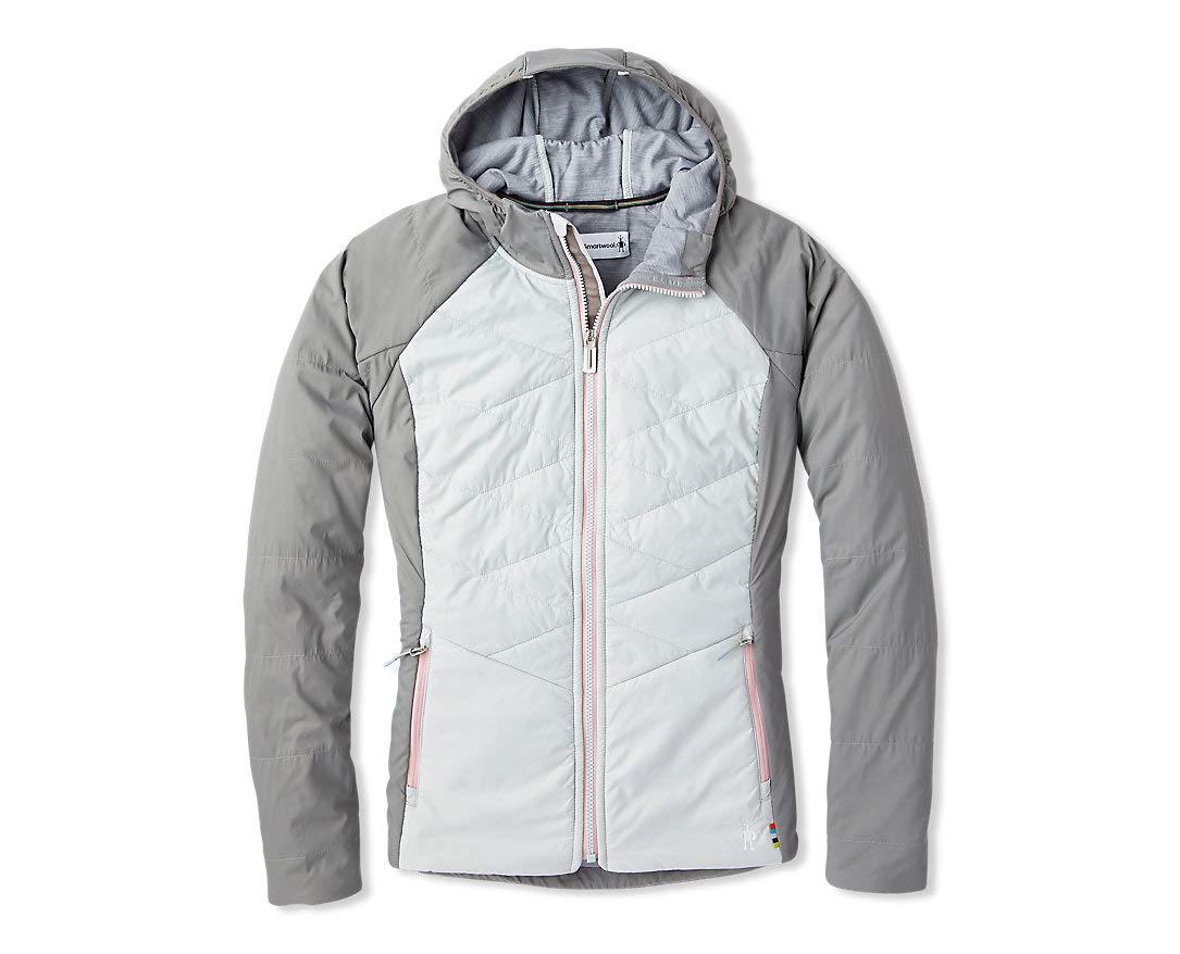 Smartwool Women's Full Zip Hoodie - Smartloft-X 60 Merino Wool Hooded Sweatshirt