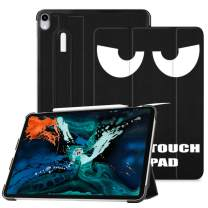 """Fintie SlimShell Case for iPad Pro 12.9"""" 3rd Gen 2018 [Supports 2nd Gen Pencil Charging Mode] - Lightweight Stand Cover with [Secure Pencil Holder] Auto Sleep/Wake, Don't Touch"""