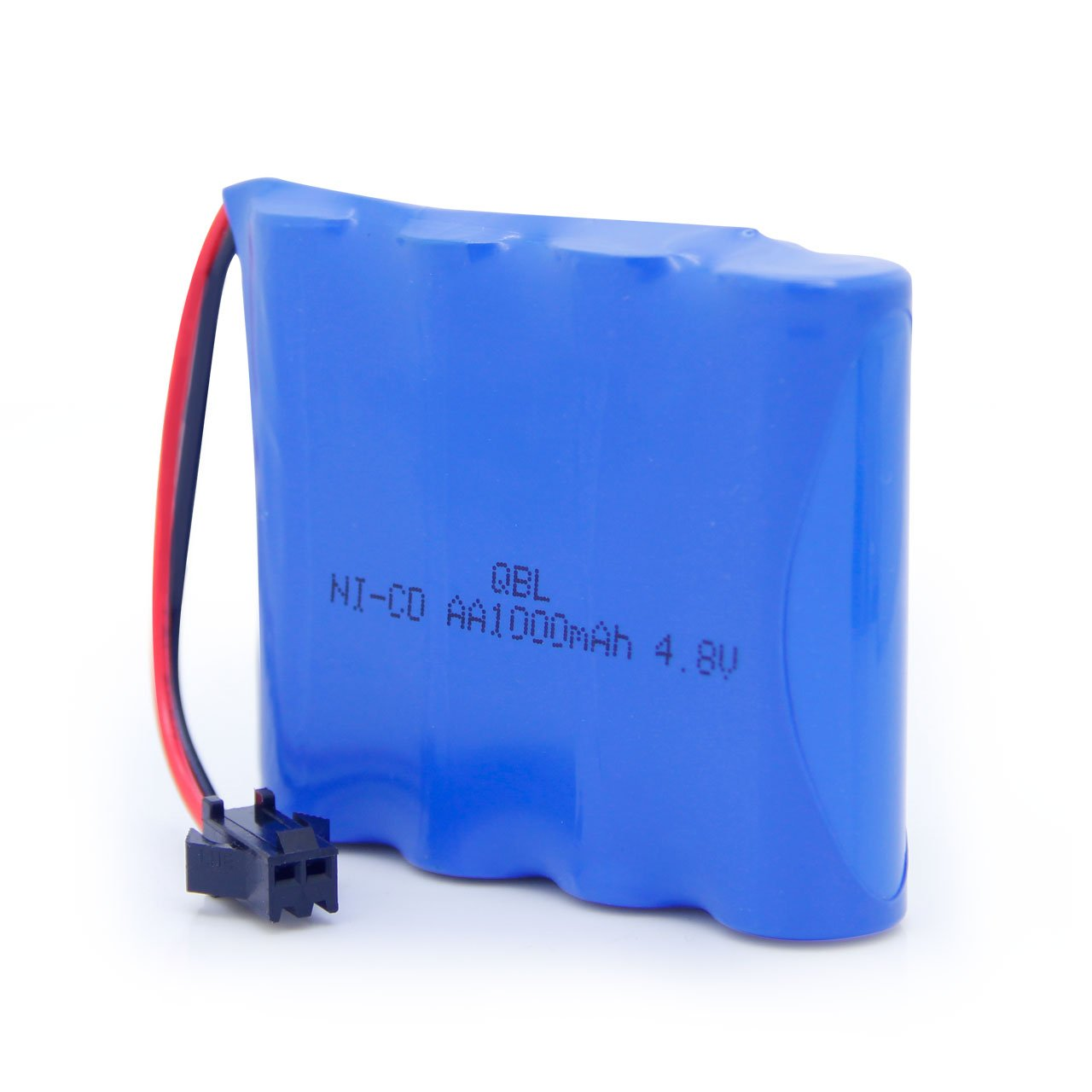 QBLPOWER 4.8V 1000mAh Ni-Cd AA Battery Pack Compatible with SZJJX RC Rock Off-Road Vehicle 2.4Ghz 4WD High Speed 1:18 Racing Cars Haktoys HAK101 RC Stunt Car and HAK155 RC Buggy
