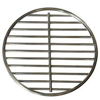 onlyfire Stainless Steel High Heat Charcoal Fire Grate Fits for Large/MiniMax Big Green Egg Grill,9-Inch