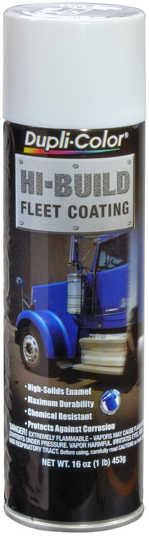 Dupli-Color (EHB104007-6 PK) Fleet White Hi-Build Fleet Coating - 16 oz. Aerosol, (Case of 6)