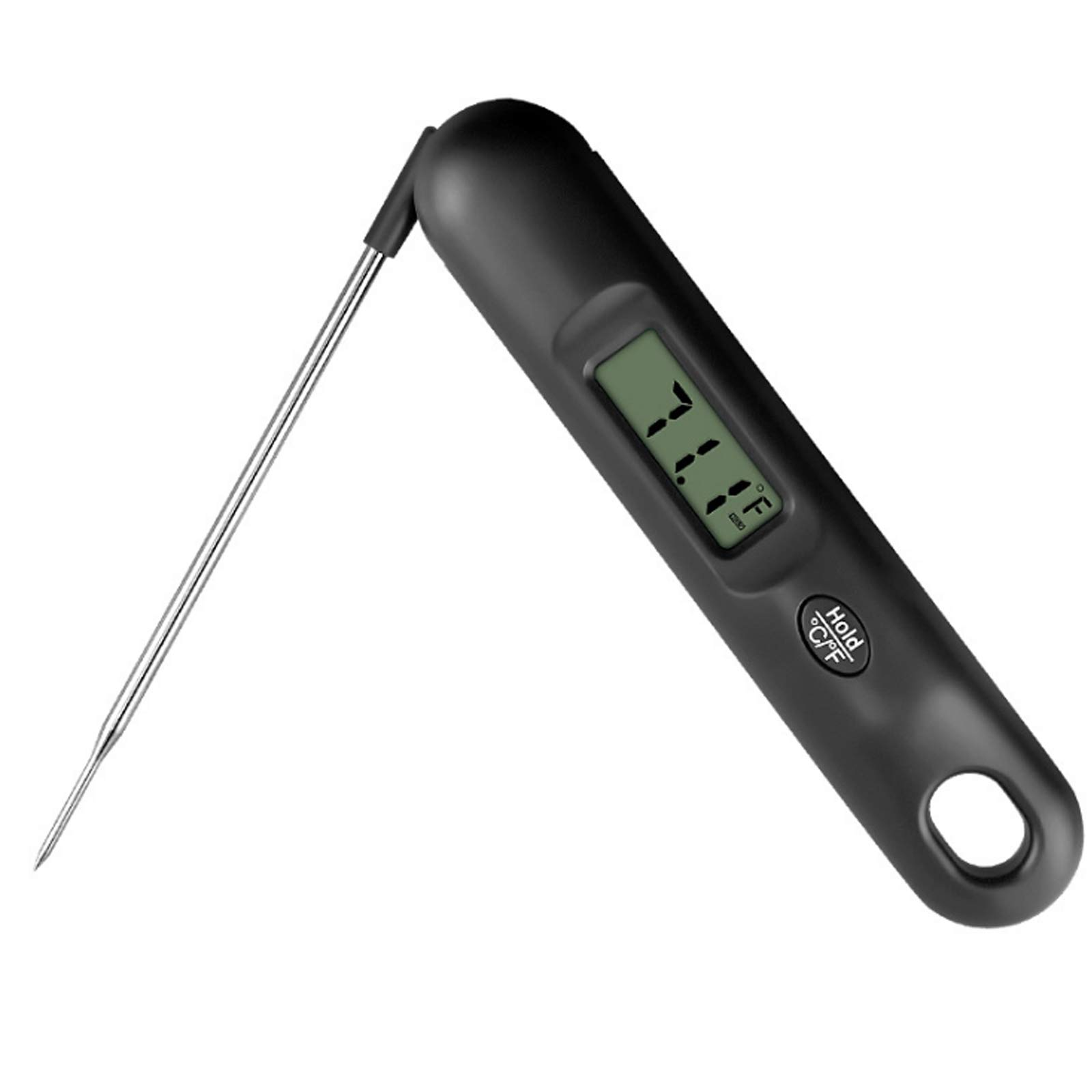 Digital Instant Read Meat Thermometer,Fast & Precise Food Thermometer for Outdoor Cooking Oil Deep Fry and BBQ