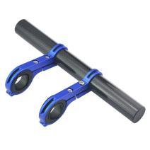 UPANBIKE Bike Handlebar Extender Extension Carbon Fiber Bracket Aluminum Alloy Clamp for Bicycle Speedometer Headlight Light Lamp Holder
