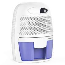 Hysure Quiet and Portable Dehumidifier Electric Deshumidificador, Home Dehumidifier for Bathroom, Crawl Space, Bedroom, RV, Baby Room