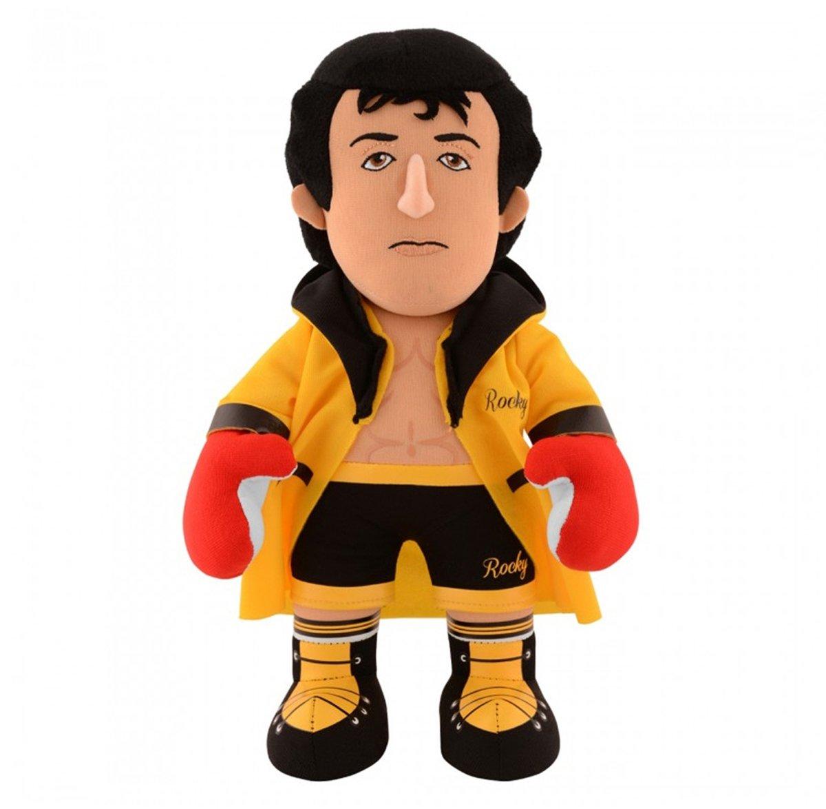 "Rocky Balboa Italian Stallion 10"" Plush Figure - A Movie Legend for Play or Display"