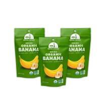 Mavuno Harvest Direct Trade Organic Dried Fruit, Banana, 3 Count