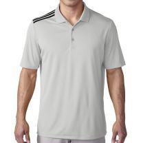 adidas Golf Men's Golf Climacool 3-Stripes Polo Shirt
