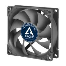 ARCTIC F8 PWM PST CO - 80 mm PWM PST Case Fan for Continuous Operation | Cooler with PST-Port (PWM Sharing Technology) and Dual Ball Bearing | Regulates RPM in Sync