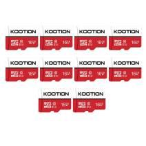 KOOTION 10 Pack 16GB Micro SD Card Class-10 Micro SDHC Card 16 gb UHS-I High Speed TF Card R Flash C10 U1 Memory Card