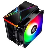 ID-COOLING SE-234-ARGB CPU Cooler AM4 CPU Cooler 5V Addressable RGB Cooler 4 Heatpipes CPU Air Cooler 120mm PWM Fan, Intel/AMD