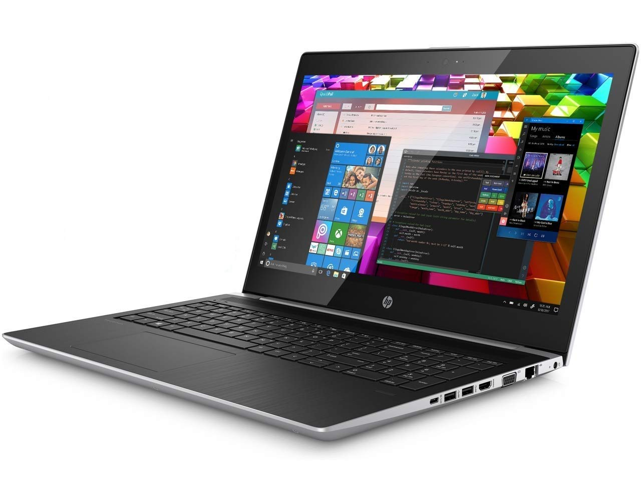 "HP Hp probook 450 g5 15.6"" Anti-Glare hd Business Laptop (Intel Quad core i5-8250u, 16gb ddr4 ram, 512gb pcie nvme m.2 ssd, uhd 620) Type-c, WiFi ac, Webcam, hdmi, vga, Windows 10 Home, 2.6 Pound"