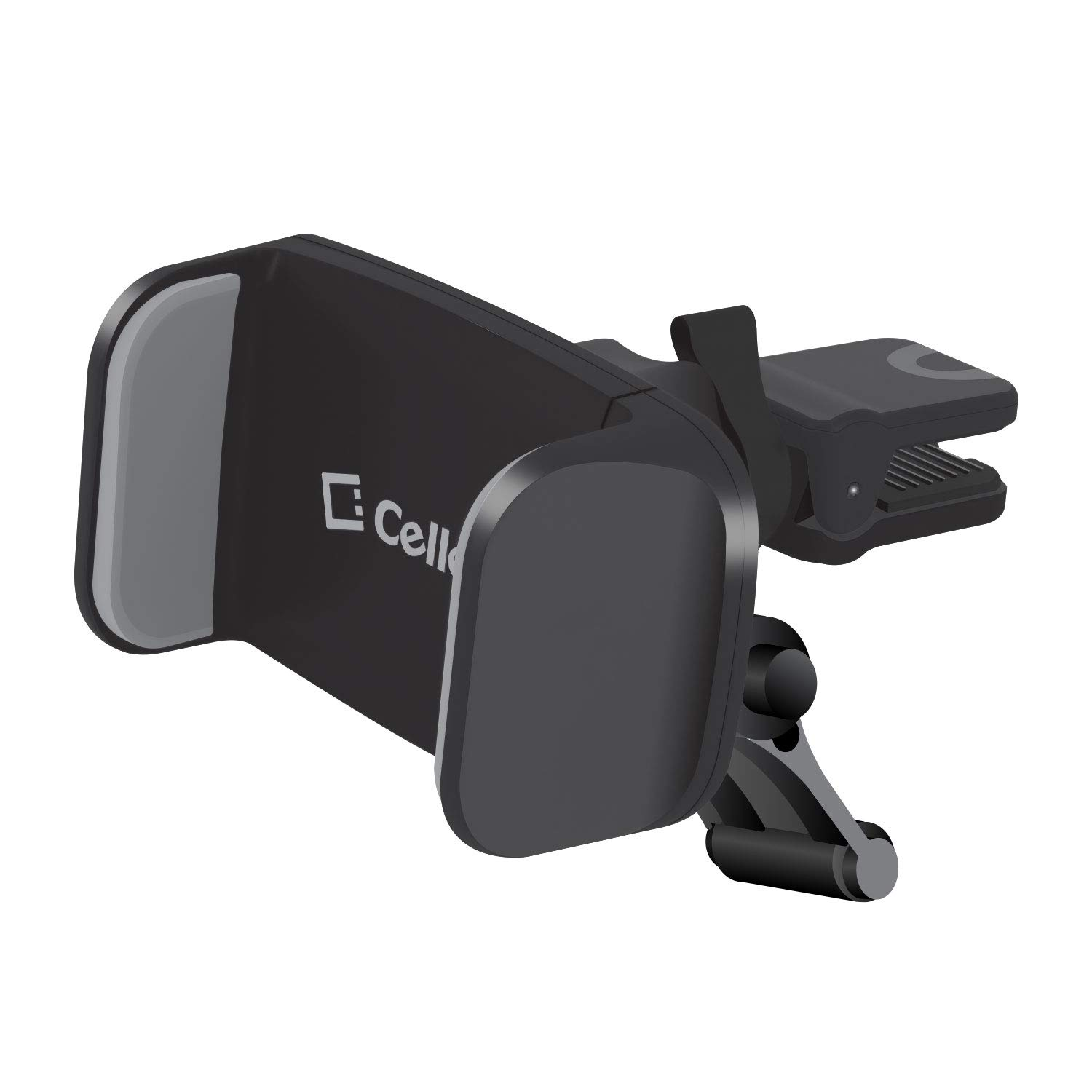 Cellet Air-Vent Phone Holder Mount Compatible with iPhone 11 Pro Max, 11 Pro, 11, Galaxy S20 Ultra 5G, S20 Plus 5G, S20 5G, Note 10 Plus, 10, 9, 8, Supporting Kick-Stand Stabilizer Included