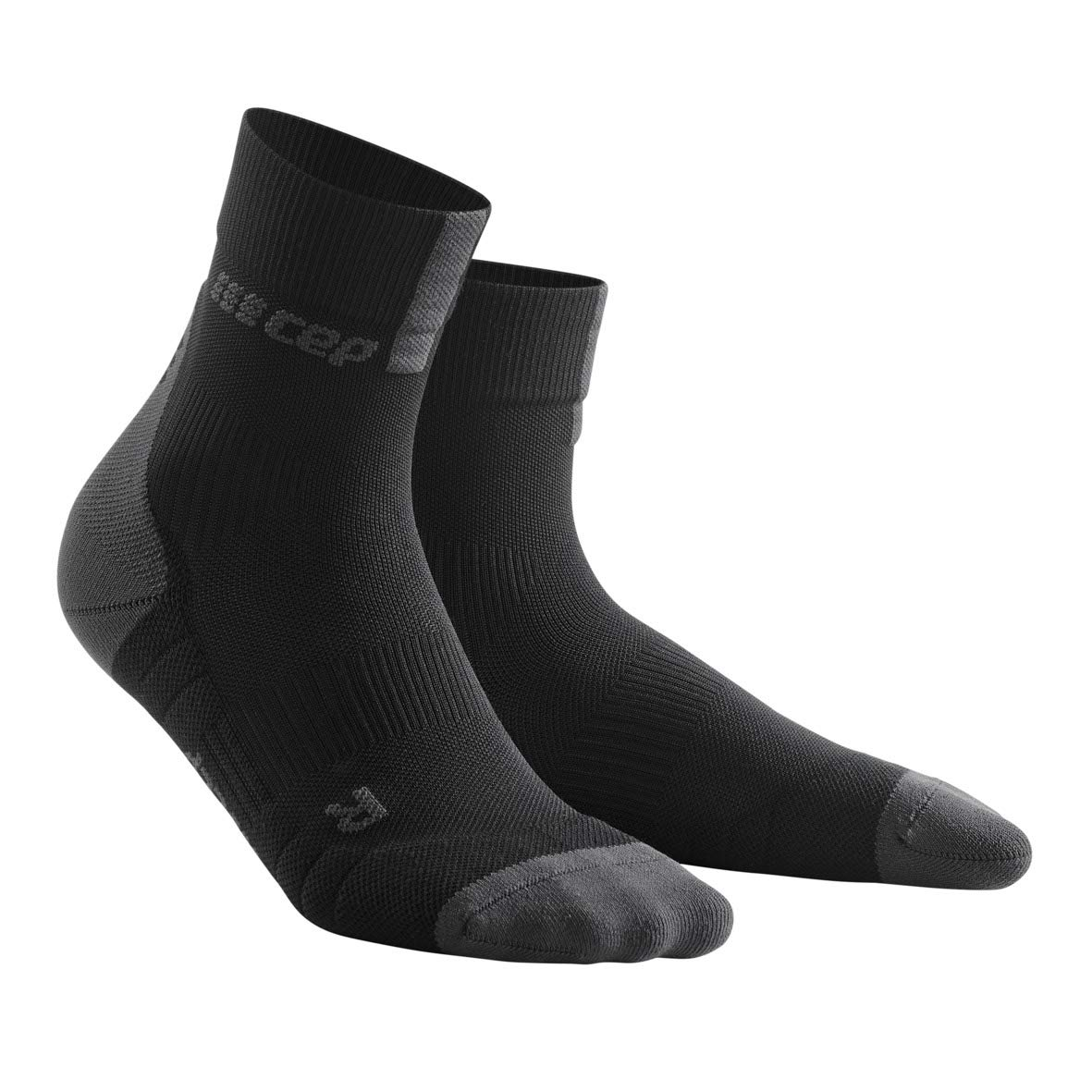 CEP Women's Short Crew 3.0 Compression Running Socks