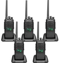 Retevis RT50 2-Way Radios Long Range Distance High Power Walkie Talkies Digital Waterproof IP67 Dual Time Slot Group Call 198 CH UHF DMR Radio (5 Pack)