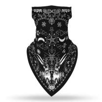 TENJOY Face Scarf Bandana Seamless Face Mask Neck Gaiter Ear Loops Balaclava for Men Women