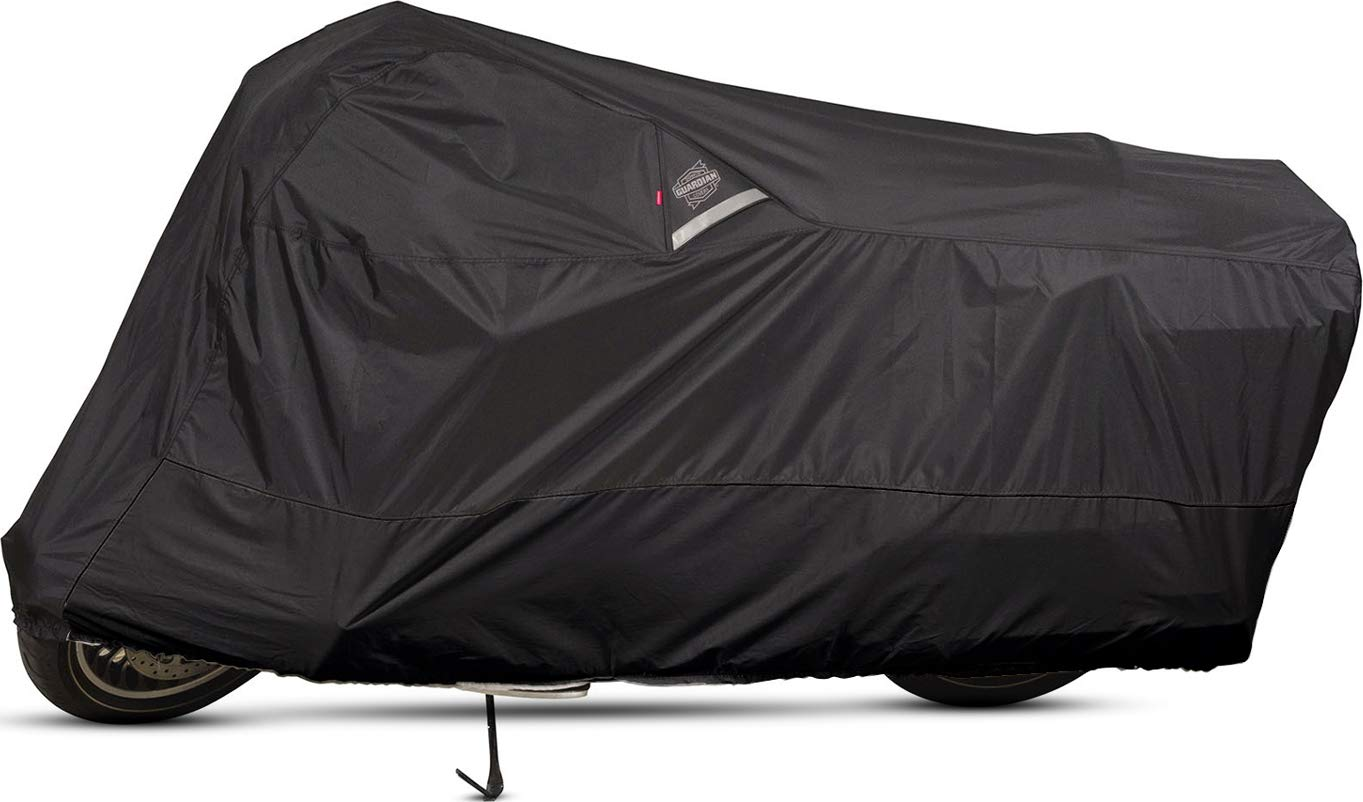 Dowco Guardian 50006-02 WeatherAll Plus Indoor/Outdoor Waterproof Motorcycle Cover: Black, XXX-Large